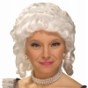 Womens Colonial Adult Wig (White)